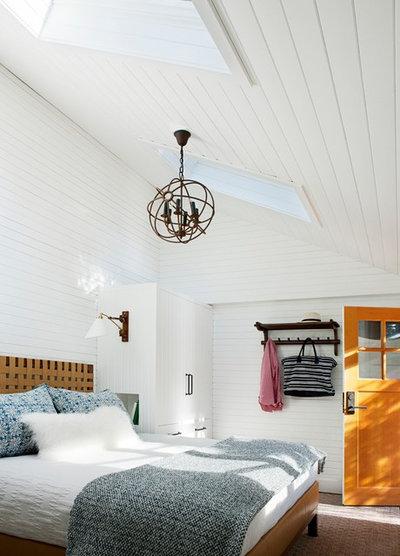 Contemporary Bedroom by Leverone Design, Inc.