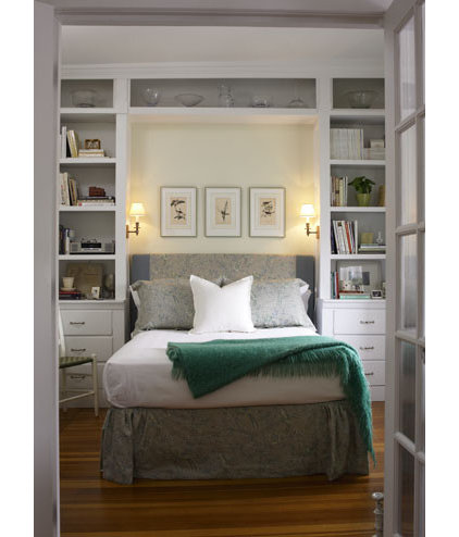 ways to make a small bedroom look bigger and work better