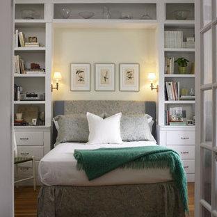 Elegant bedroom photo in Boston