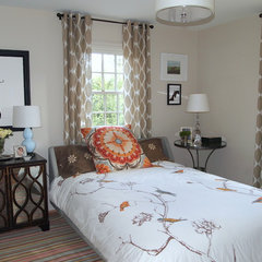 eclectic bedroom by Elizabeth Reich