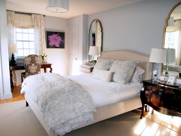 Traditional Bedroom by Elizabeth Reich