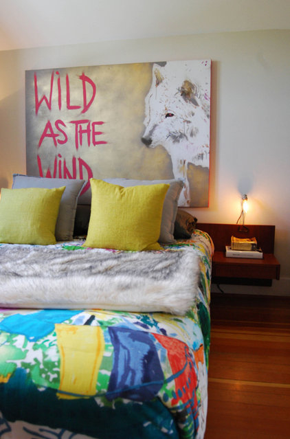 eclectic bedroom by Megan Buchanan