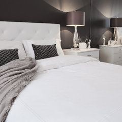 contemporary bedroom by Jennifer Backstein Interiors