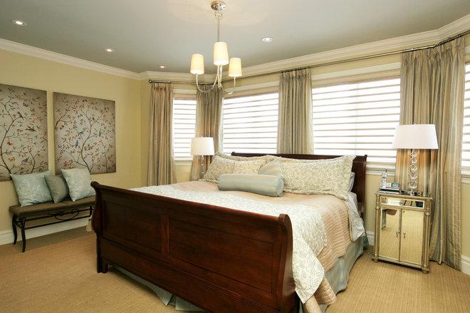 Contemporary Bedroom by Jennifer Brouwer (Jennifer Brouwer Design Inc)