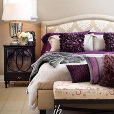 Contemporary Bedroom by Jennifer Brouwer (Jennifer Brouwer Design Inc)