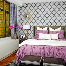 Contemporary Bedroom by Decorating Den Interiors