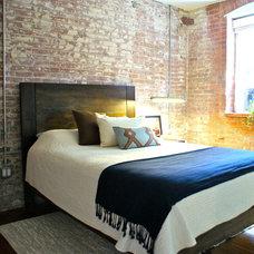 Industrial Bedroom by Beekman Lane