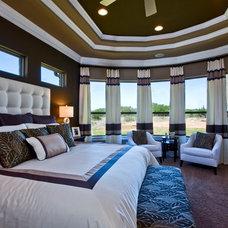 Bedroom by Mary DeWalt Design Group