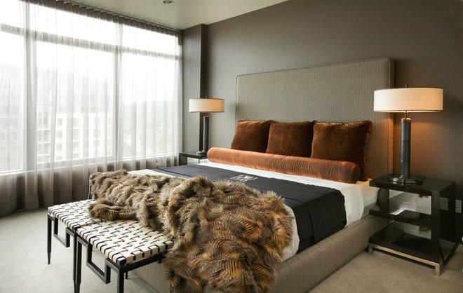 Contemporary Bedroom by Faith Cosgrove (TSRG)