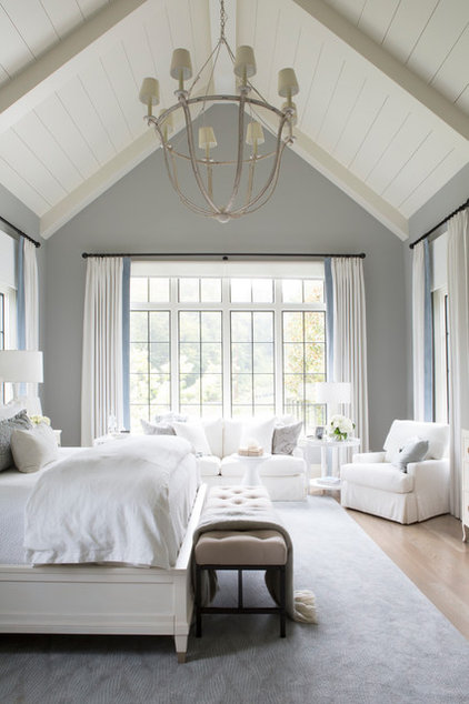 Transitional Bedroom by Vernich Interiors
