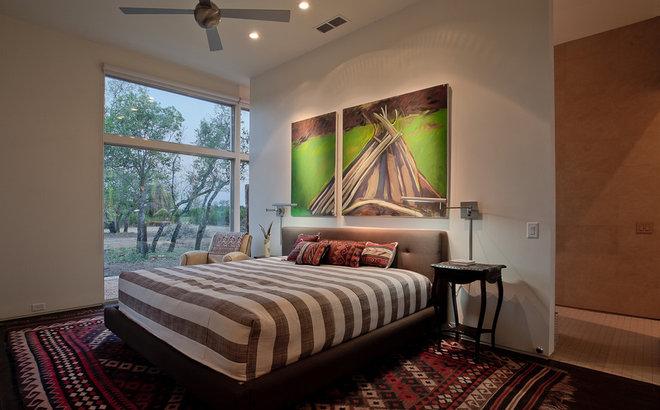 Contemporary Bedroom by NIMMO American Studio For Progressive Architecture