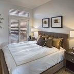 Urban Glam Guest Bedroom Contemporary Bedroom Dallas By Rsvp Design Services