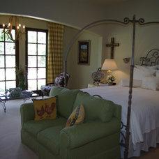 Mediterranean Bedroom by Seal Design Group