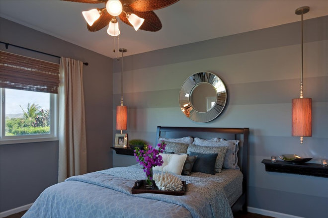 Contemporary Bedroom by Julie Sumile Interior Design