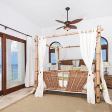 Tropical Bedroom by Classic Home Interiors