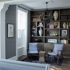 Eclectic Bedroom by Buckingham Interiors + Design LLC