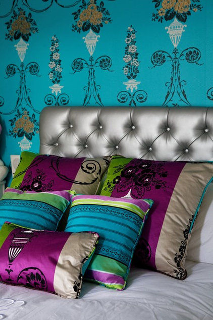 eclectic bedroom by Julianne Kelly