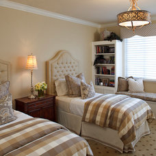 Traditional Bedroom by Julie Mifsud