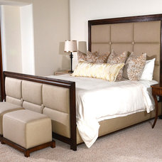 Contemporary Bedroom by Woodland Furniture