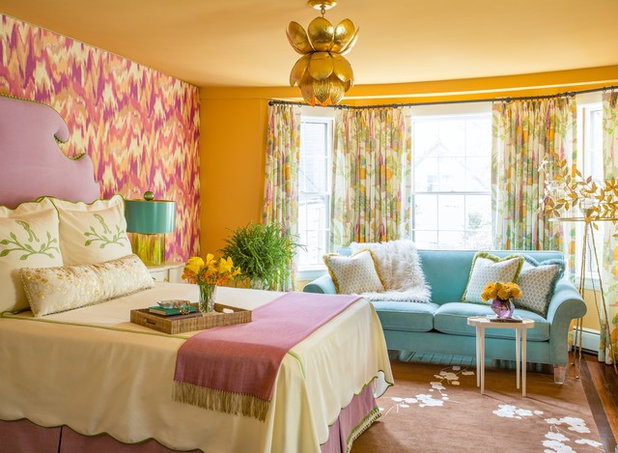 Transitional Bedroom by Kelly Rogers Interiors