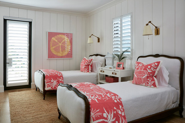 Beach Style Bedroom by Pineapples, Palms, Etc.