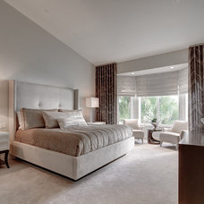 Modern Bedroom by Michael Laurenzano Photography