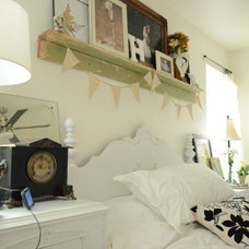 Eclectic Bedroom Just like my dreams, our house is always in progress!