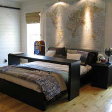 traditional bedroom by Van Wicklen Design