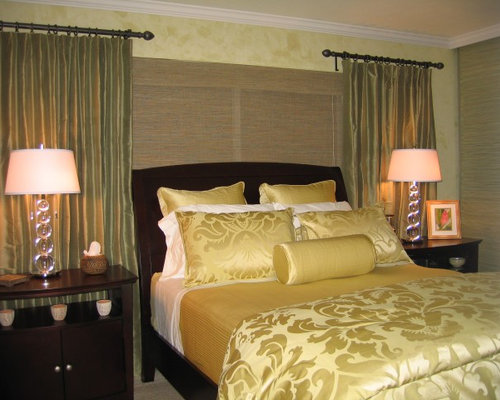 Silk dupioni curtain home design ideas pictures remodel for Chambre oriental design