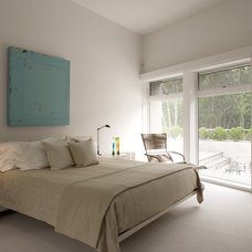 Contemporary Bedroom by Bruce D. Nagel Architect