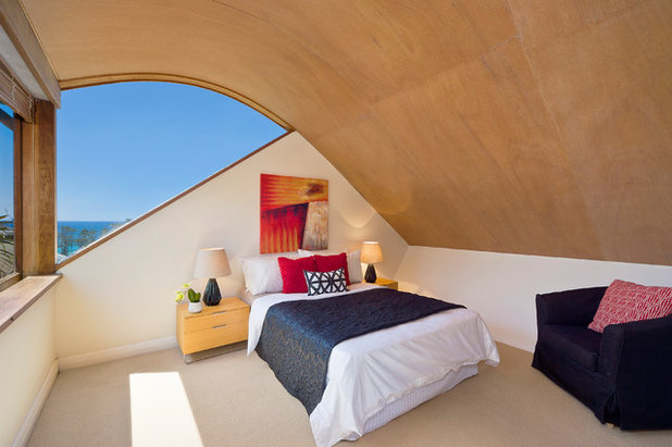 Contemporary Bedroom by Baxter & Jacobson Architects
