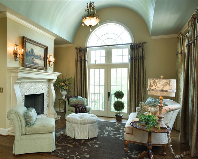 Traditional Bedroom by Janine Terstriep/The Decorative Touch Ltd