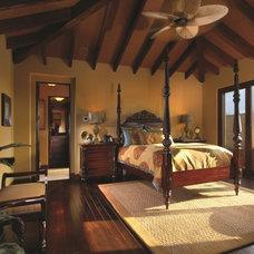 Tropical Bedroom by Renaissance Custom Builders, Inc (RCB, Inc.)