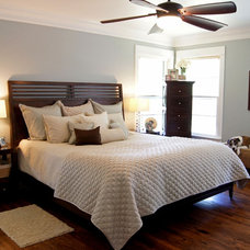 Transitional Bedroom by Kara Weik