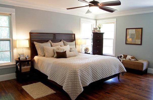 Transitional Bedroom by Kara Weik