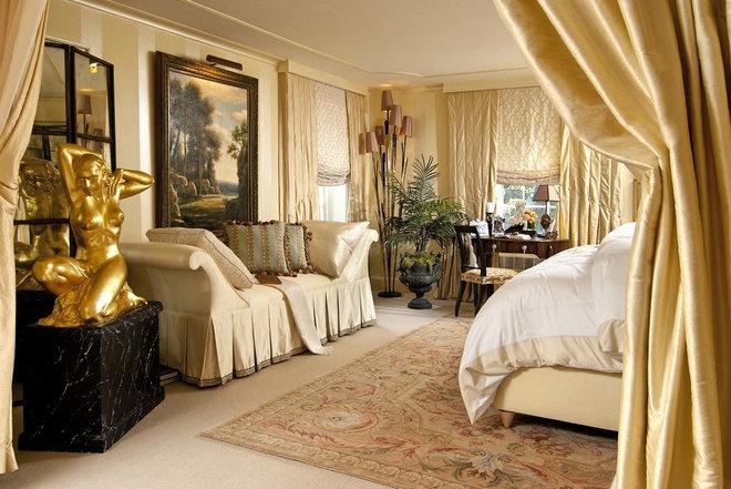 Traditional Bedroom by KARLA TRINCANELLO-CID - INTERIOR DECISIONS, INC.