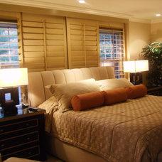 Contemporary Bedroom by KARLA TRINCANELLO-CID - INTERIOR DECISIONS, INC.