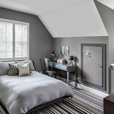 Contemporary Bedroom by Marcel Page Photography
