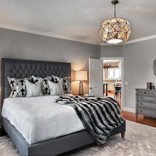 Transitional Bedroom by Marcel Page Photography