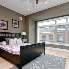 Contemporary Bedroom by Amanda Alligood