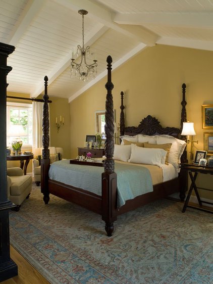 traditional bedroom by Kathleen Burke Design
