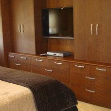 Contemporary Bedroom by J M Applegate Designs LLC