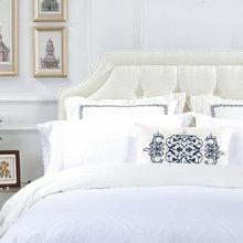 Catherine Headboard Queen Antique White Modern Bedroom