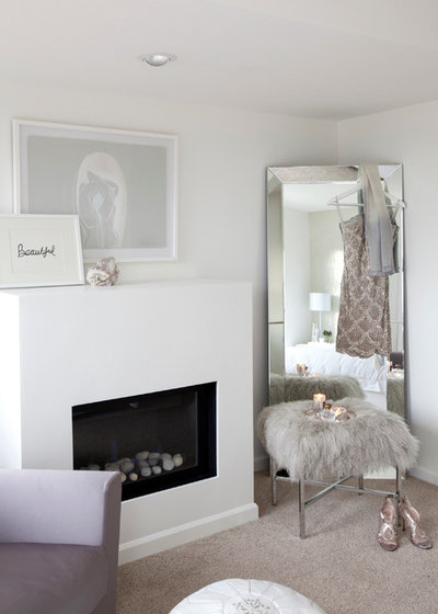 Transitional Bedroom by The Cross Interior Design