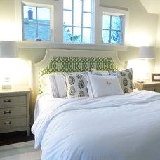 Beach Style Bedroom by kelley gardner