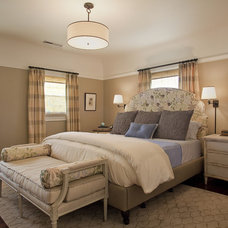 Traditional Bedroom by Kelly Scanlon Interior Design