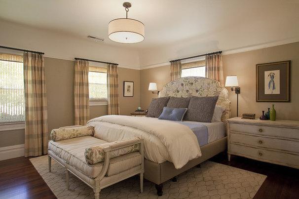 Traditional Bedroom by Kelly Scanlon Interior Design