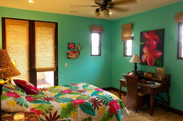 Tropical Bedroom by Lisa Hallett Taylor