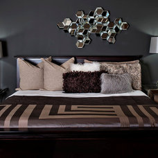 Contemporary Bedroom by MaRae Simone Interiors, LLC
