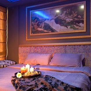 Esempio di una camera da letto bohémian